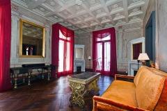 Décor de style pompéi, villa Tritone, Sorrento, Italie, pour Jacques Garcia.